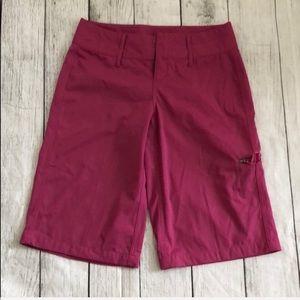 Lululemon golf Bermuda shorts dark pink
